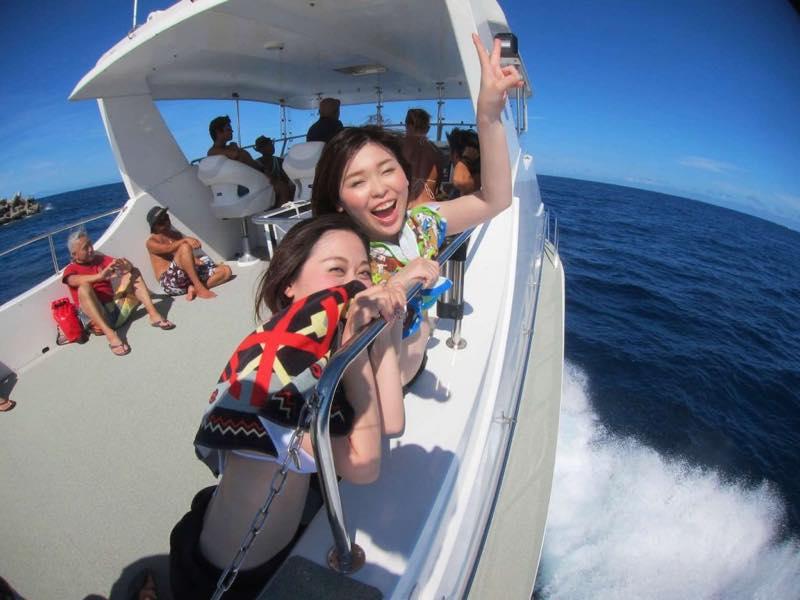友達とダイビングでダイビング代無料